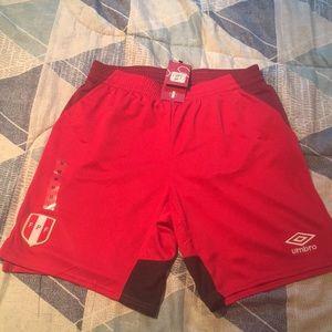 Peru National Team Soccer Shorts